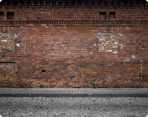 Mur Brique Usé