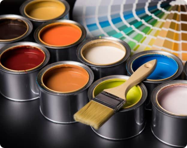 Pots Peinture Teinture